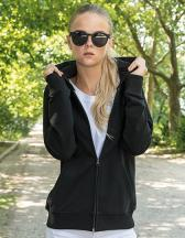 Ladies` Terry Zip Hoody